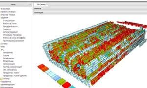 Графика и 3D – визуализация системы InStock WMS