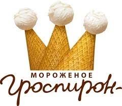 лого Гроспирон фабрика мороженого клиент InStock