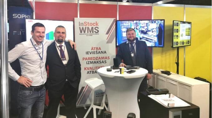 InStock WMS представлена на выставке Riga Comm 2019