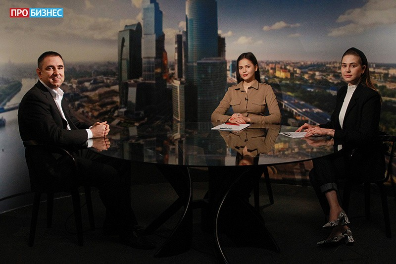 Интервью Алексея Парфенова телеканалу Про Бизнес